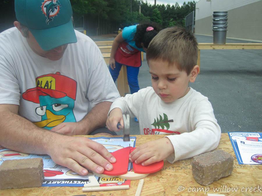 Lowe's Kids' Workshop