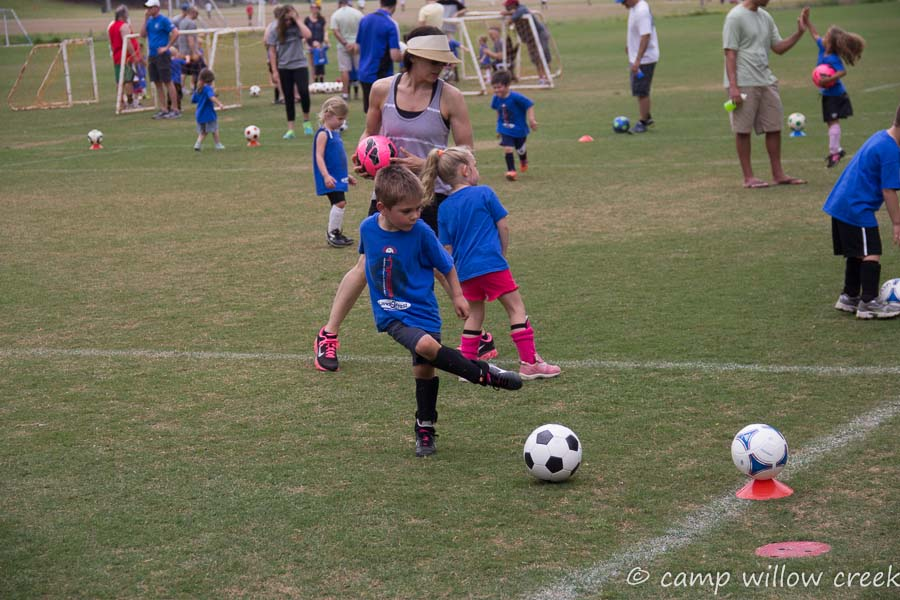 More Soccer Practice