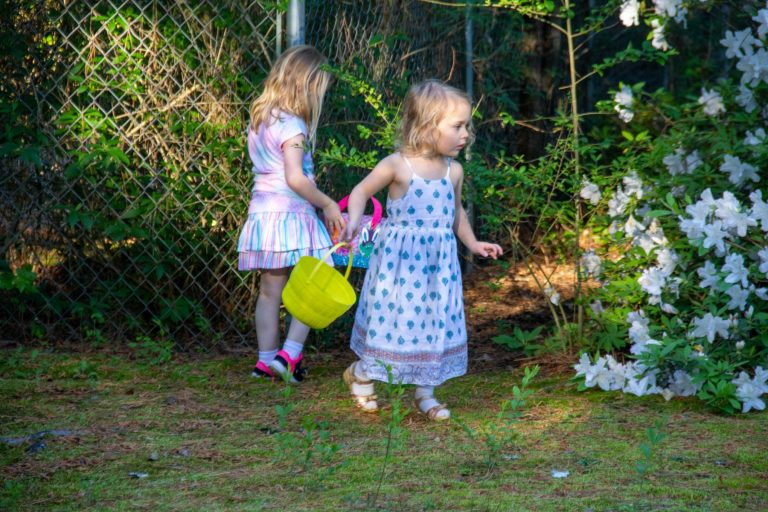 Egg Hunt At Rita's