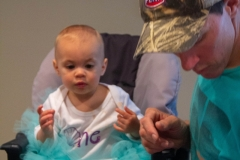 Lillian's First Birthday Party